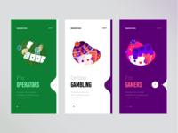 Onboarding for gambling app