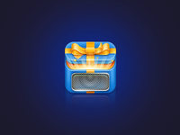 Surprise box iOS icon