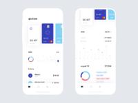 Bank app full screen