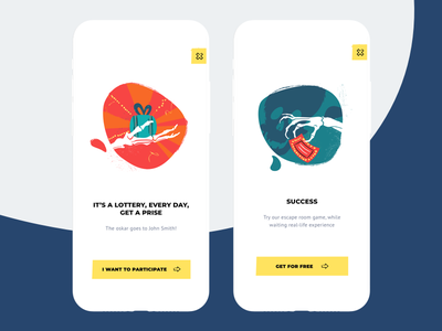 Quest onboarding screens ios app tutorial screen onboarding design cuberto graphics illustration quest ui ux