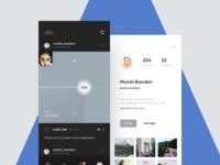 Blockchain-based social media app