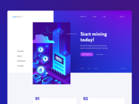 Cryptocurrency Mining Platform (WIP)