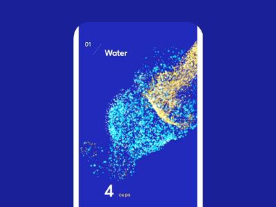 Granular Exploration Effects graphics design form visual heart water granula after affects visual art ux ui cuberto