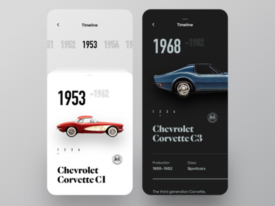 Sport Cars Encyclopedia UI