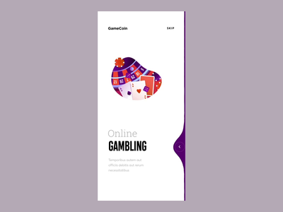 Onboarding Swipe Animation animation after effects vector graphics tutorial smooth swipe onboarding illustration ux ui cuberto