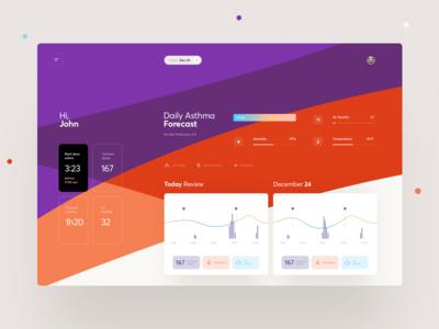 Health Tracker Statistics Dashboard