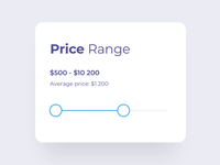 Price Range Control