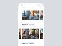 Real Estate App / Search process
