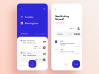 Carpooling App Design Concept