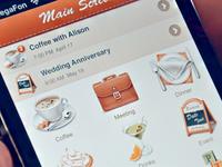 UI design for iPhone