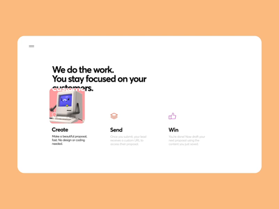 Features Page Interaction web page services features animation interaction gif product design web design interface motion design illustration graphics icons ux ui cuberto