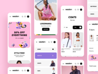 Shop Women's Clothing App Design