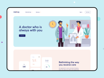 Web Platform for Medicine Physicians and Researchers