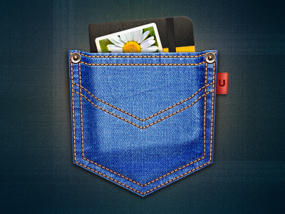 Unclutter Mac OS icon icon mac os cuberto illustration app jeans photo moleskine