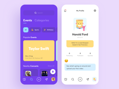 Surfboard 2.0 App Design