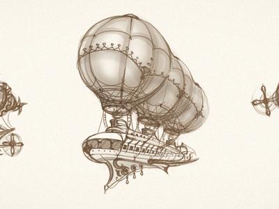 Airship scketches
