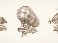 Airship scketches large