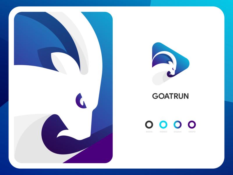 Goatrun Branding style brandbook guidelines speed run goat game logo branding illustration graphics icons ux ui cuberto