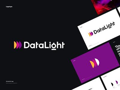 DataLight Branding tool marketing strategy mockup logo guidelines typography branding design illustration graphics icons ux ui cuberto