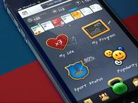 FCB Fitness iPhone app