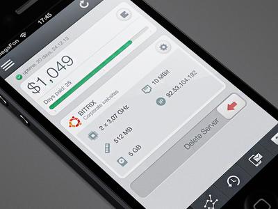 VPS iPhone app (WIP)