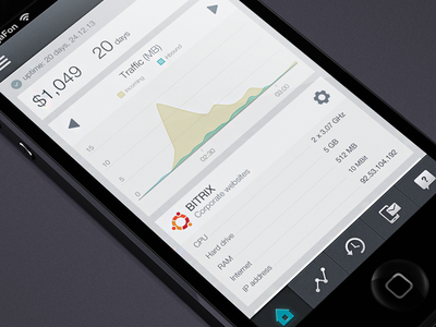VPS iPhone app (flat version)
