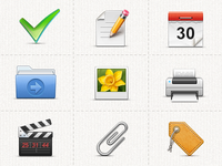 Task icons