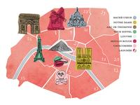 Arrondissements Map