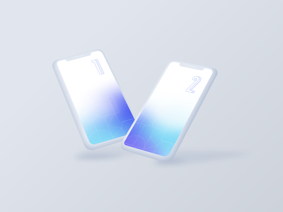 Free Iphone X clay mockup vector figma ui white minimal free clay float iphone mockup