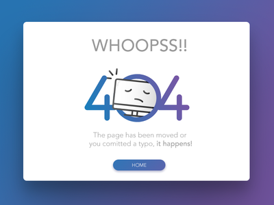 fun 404 fun design error ui 404