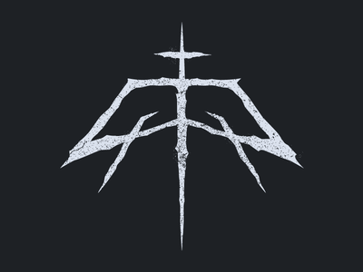 Personal Identity skull db indentity illustration branding