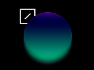Blur blur blue study circle form gradient color