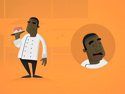 Chef cartoon chef illustration character