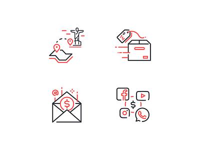 Illustrations for Landing page pagseguro landing illustration ui icon