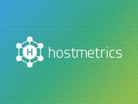 Hostmetrics logo redesign