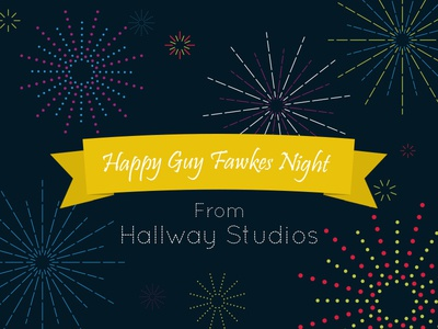 Happy Guy Fawkes Night fireworks fun colour night design illustration explosion guy fawkes bonfire night