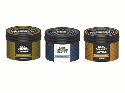 Real Cornish Caviar Packaging
