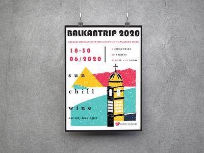 BALKANTRIP 2020 event poster