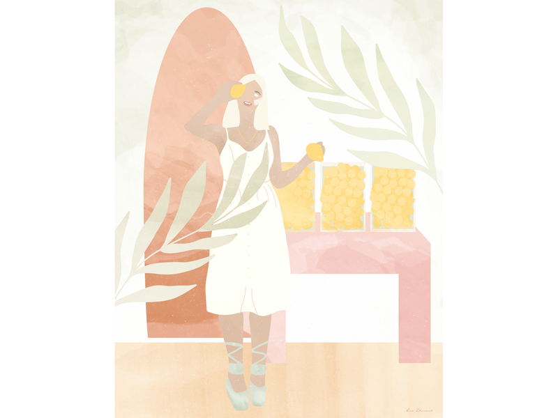 Lemonade lifestyle illustration procreate print illustrator art illustration artist illustration design poster artwork illustrator poster art illustration art illustration