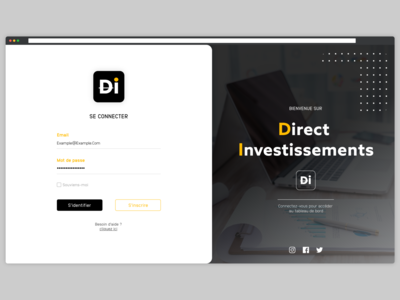 LOGIN BUSINESS DASHBOARD login analytics dashboard black and white illustration web design ux ui design uiux adobe xd