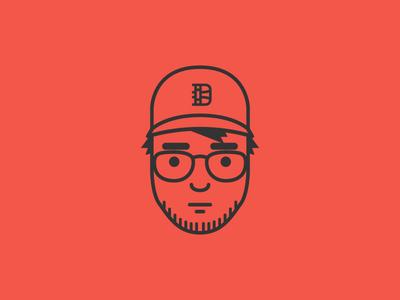 My big, dumb face avatar