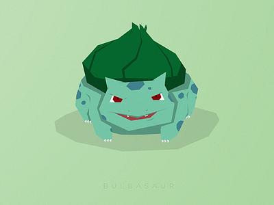 Bulba! pokemon illustration vector