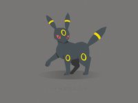 Umbreon (Coolest Eevee Evolution)
