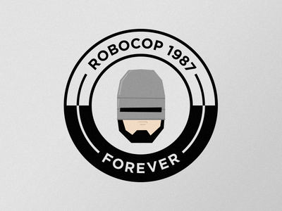 Robocop 1987 robocop detroit movie illustration vector
