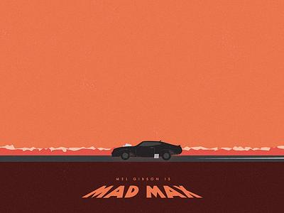 Mad Max mad max movie illustration poster car vector