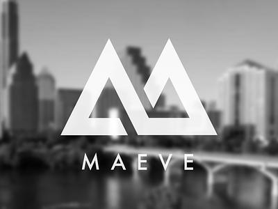 Maeve logo vector type