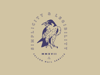 Falcon type mail falcon branding