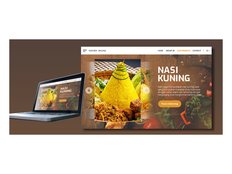 landing page for nasi box malang (2)