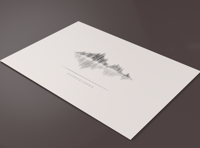 Soundscapes Logo Design illustration mockup graphic design branding adobe illustrator adobe minimalist minimal logo design