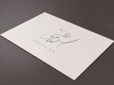 Logo Design Owl signature logo signature designs designer mockup graphic design branding adobe illustrator adobe logo design